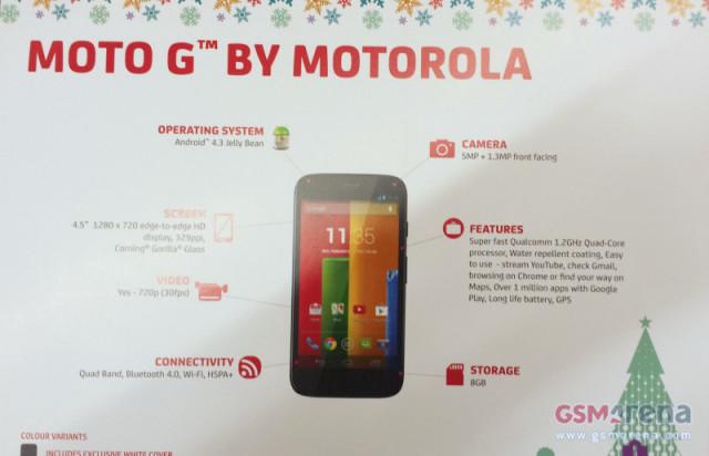 Moto G by Motorola GSM Arena