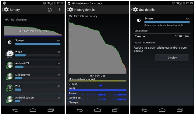 Nexus 5 battery life