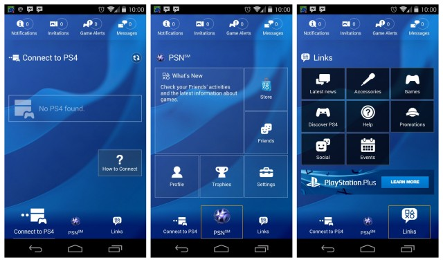 PS4 PlayStation App android