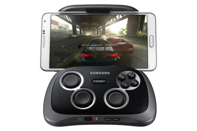Samsung GamePad with Phone game