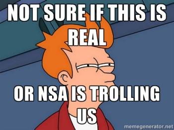 NSA Trolling