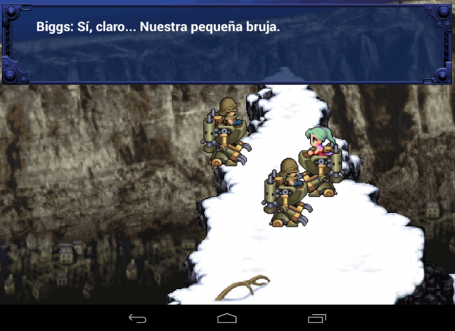 Final Fantasy VI Android remake