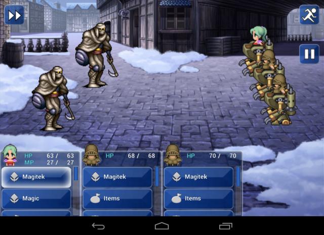 Final Fantasy VI Android screenshot 1