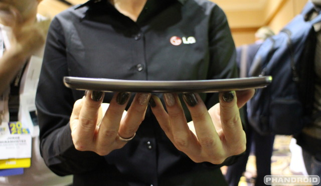 LG G Flex CES 2014 IMG_0066