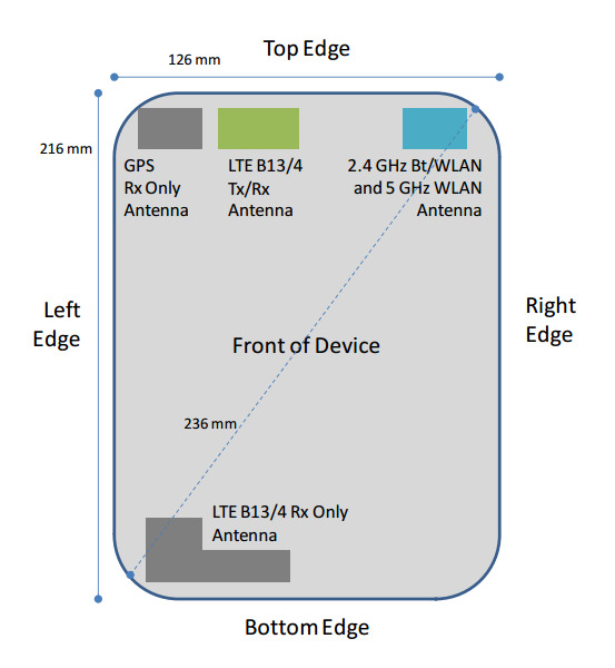 LG G Pad 8 3 with Verizon 4G LTE bands stops by the FCC