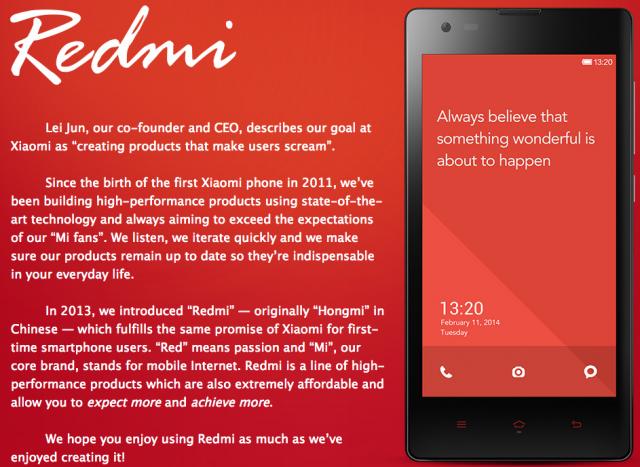 Xiaomi Redmi Phones