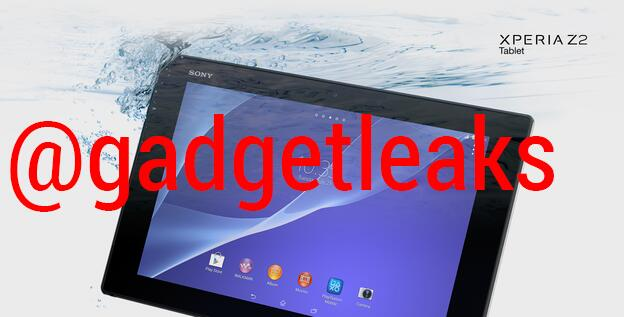 Sony Xperia Z2 Tabelet leak1