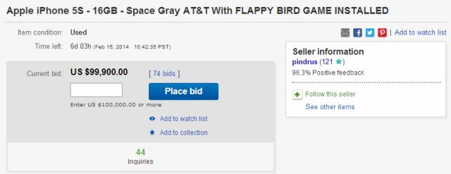 flappy birds ebay