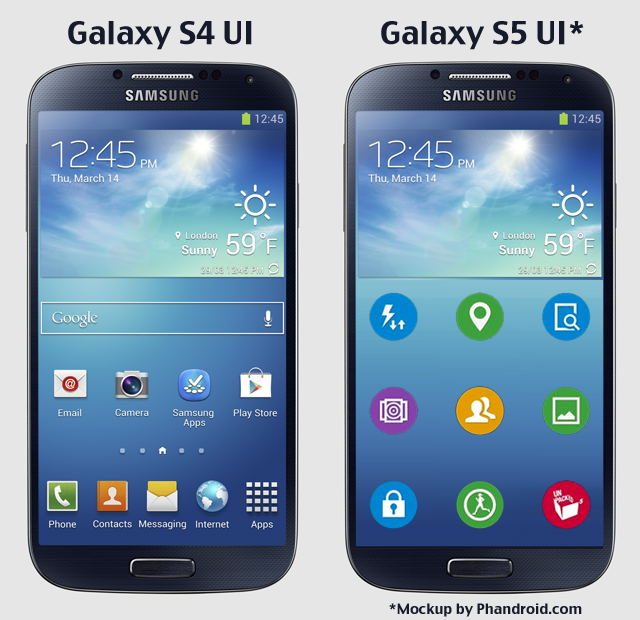 galaxy-s5-vs-galaxy-s4-picture