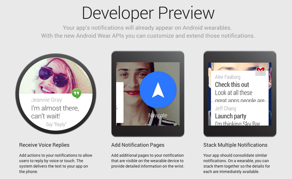 Android Wear UI explained: everything you wanted to know