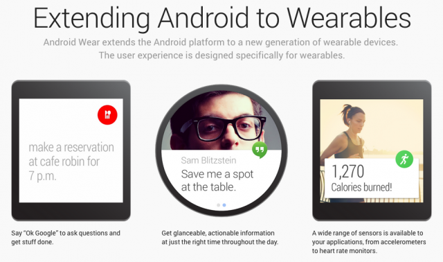 Android Wear features
