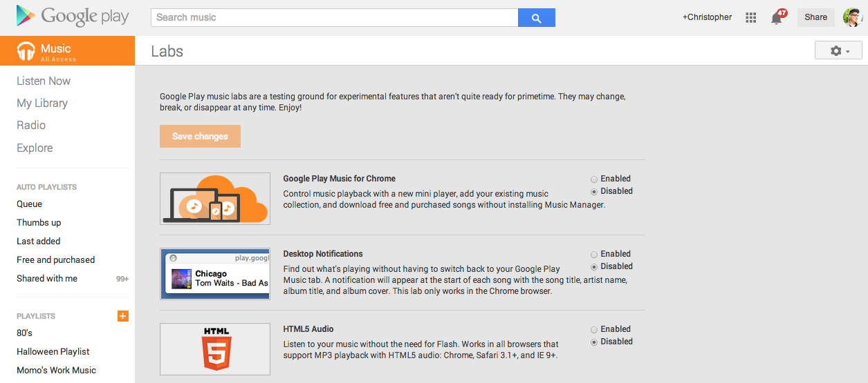 google play mini player download