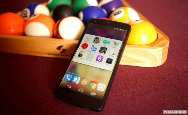 Nexus 5 shortcuts DSC05742