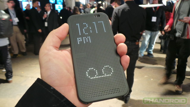 htc one m8 dot view case 8