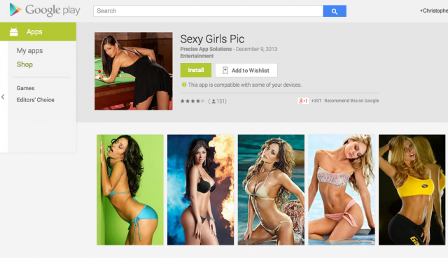 sexy girl apps Google Play