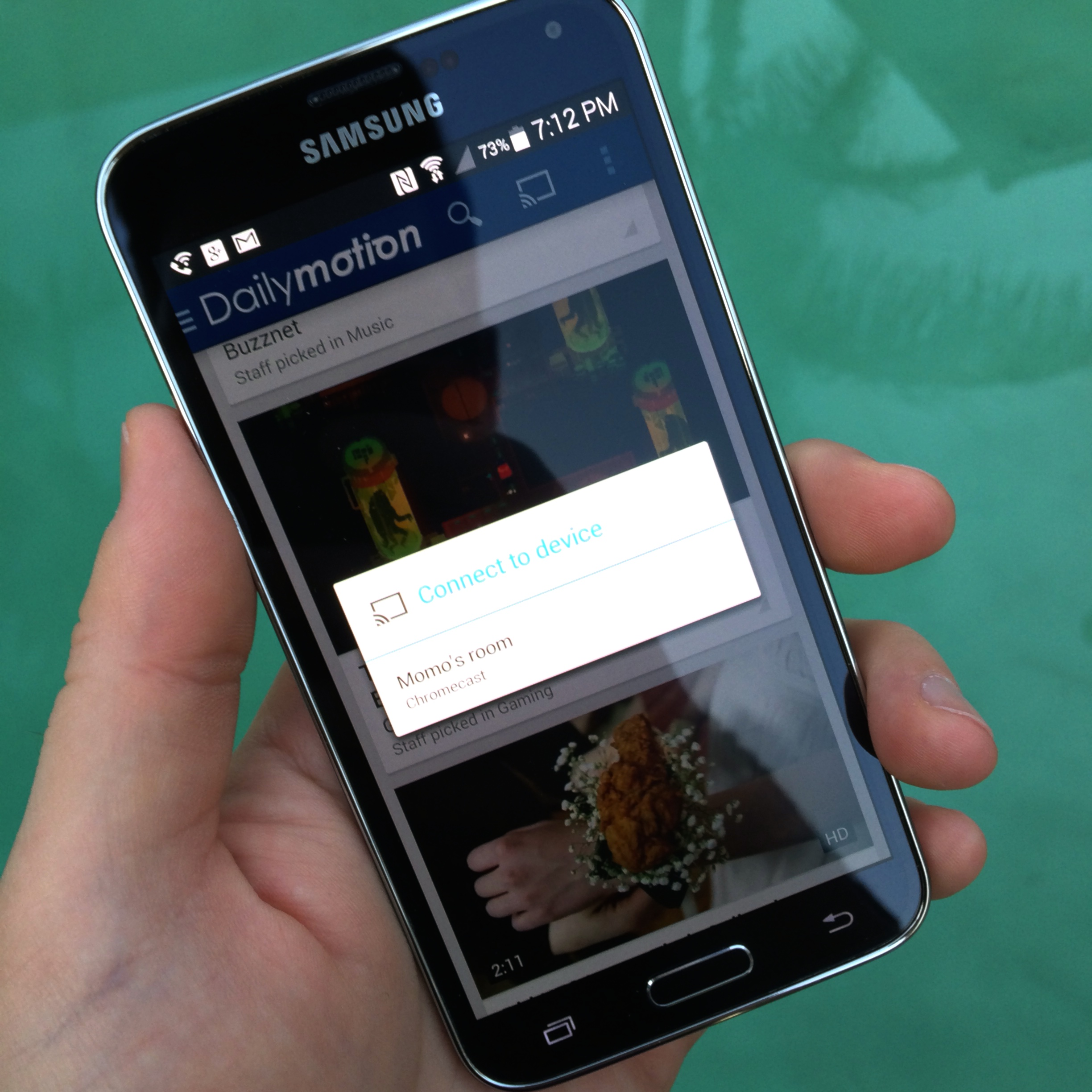 Dailymotion app for Android now supports Chromecast