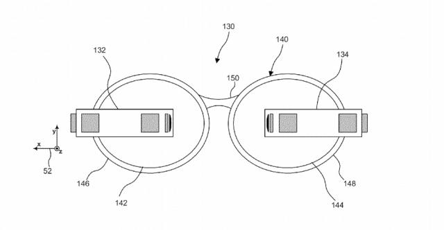 Dual Gogle Glass patent 1