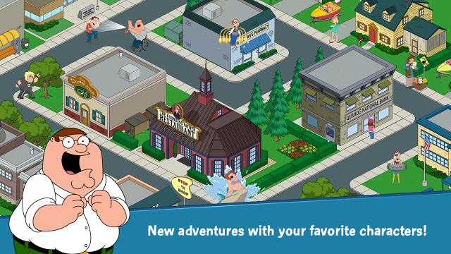 Family Guy game screenshot