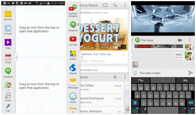 Galaxy S5 Multi-window