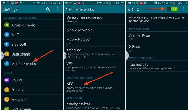 Galaxy S5 NFC
