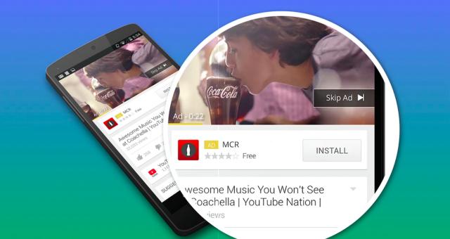 Google AdWords install ad YouTube 1