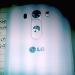 LG G3 leaks in the wild, offers first look at new rear