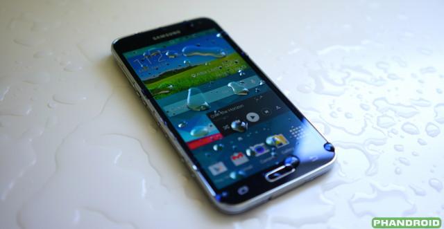 Samsung Galaxy S5 water DSC05777