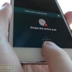 Galaxy S5 Fingerprint Reader