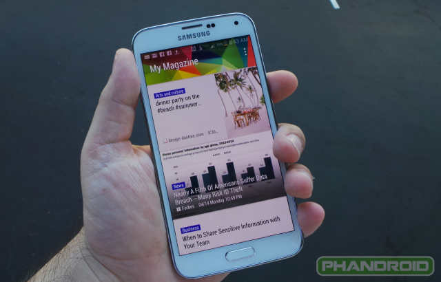Galaxy S5 My Magazine