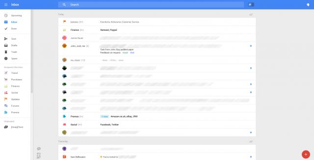 New Gmail web UI 1