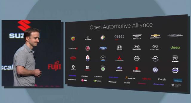 Android Auto Open Automotive Alliance