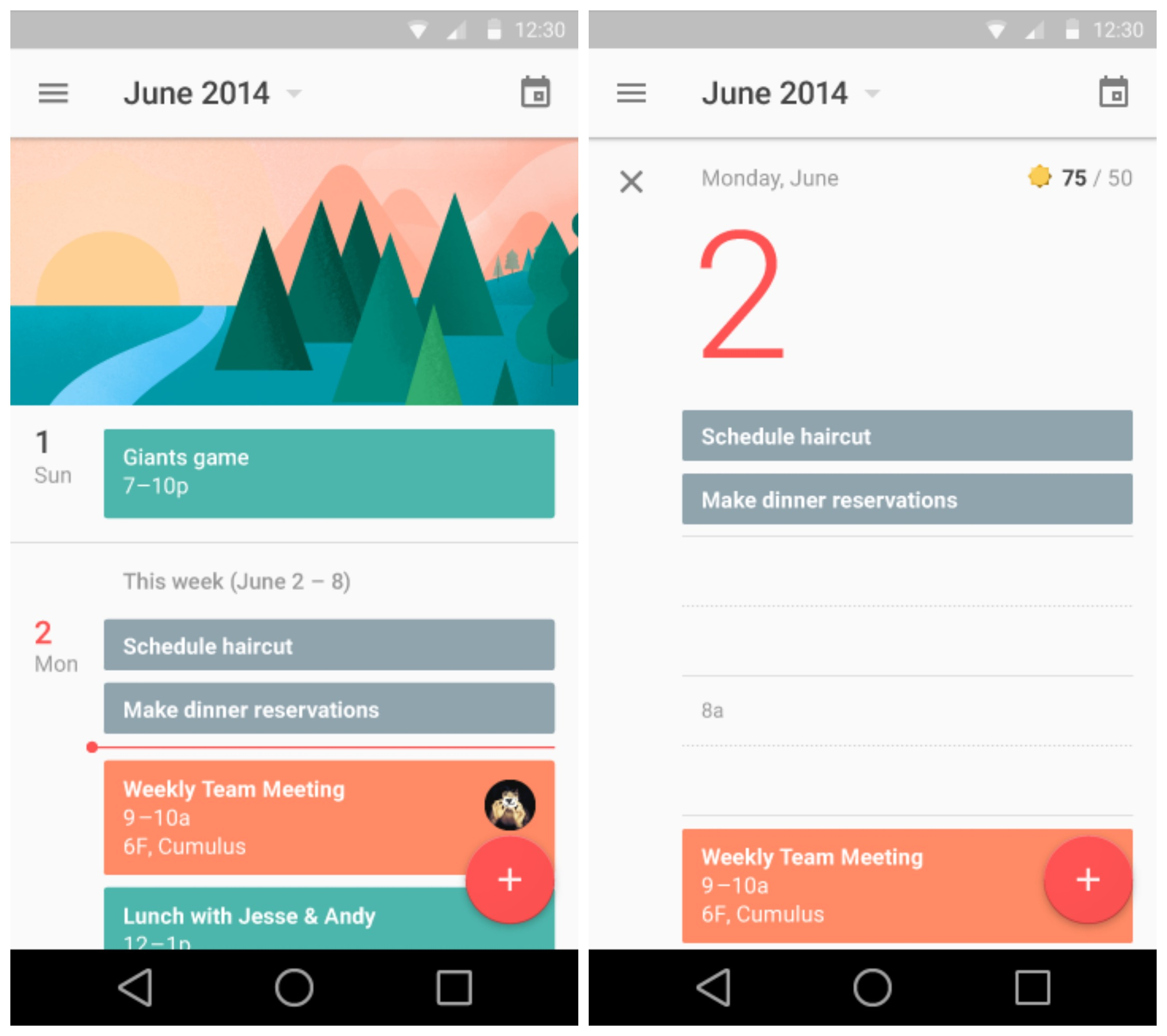 Sneak Peek At Android L S Redesigned Settings Gmail Youtube Calendar And Lots More Gallery Phandroid