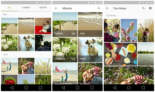 Android L Material Gallery Photos