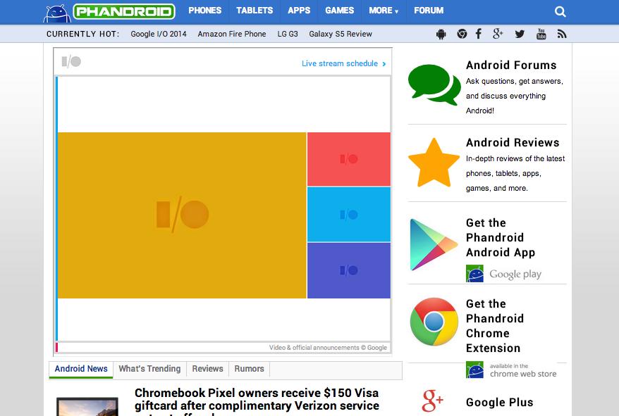 Watch the Google I/O 2014 keynote streaming live on