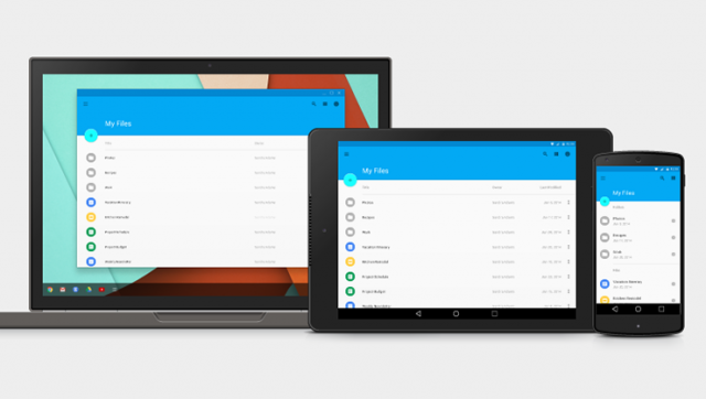 Google Material Design multiplatform