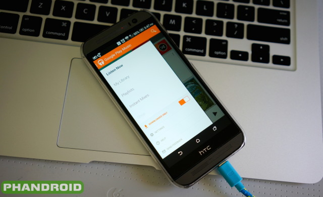 Google Play Music 5.6 DSC06067