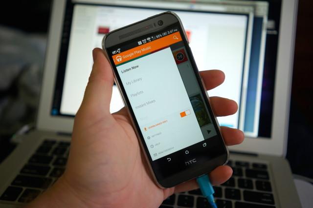 Google Play Music 5.6 DSC06068