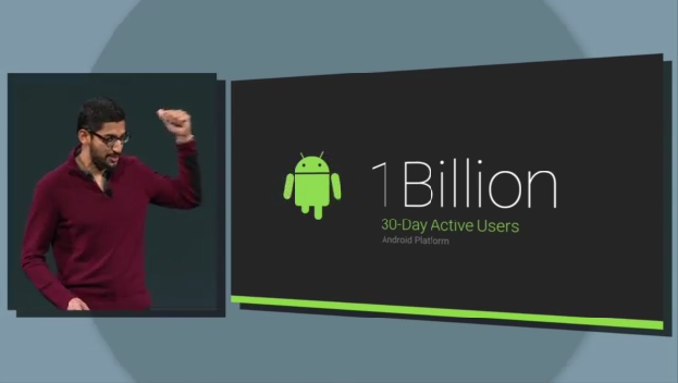 android billion