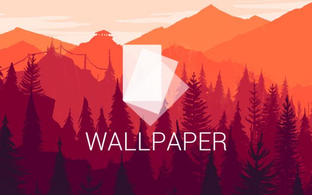 flat wallpaper