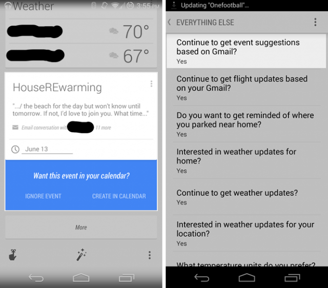 now gmail events