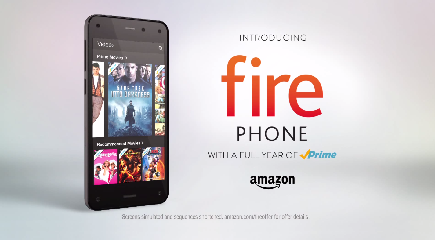Here's the 1st Amazon Fire Phone commercial [VIDEO]
