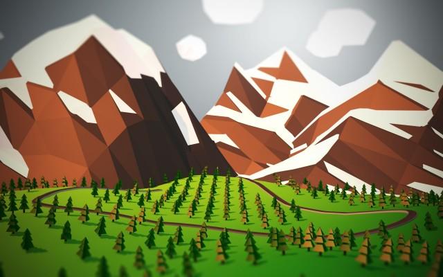 Lowpoly_Landscape