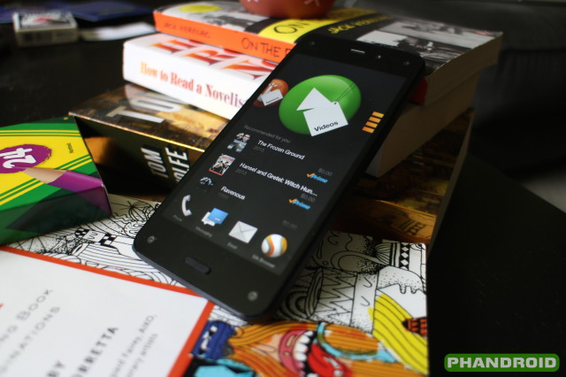 fire phone software