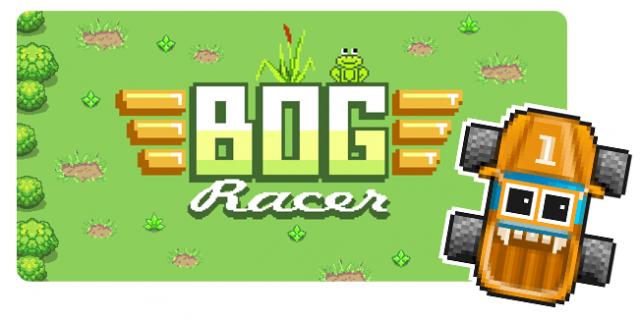 Bog Racer banner