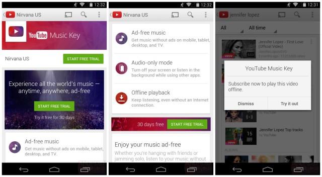 YouTube Music Key screenshots