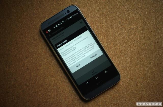 HTC One M8 system update WiFi Calling DSC06840