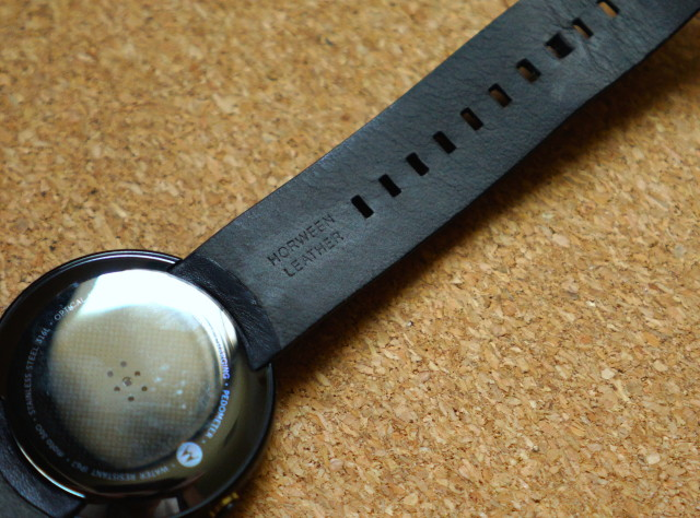 Moto 360 Horween Leather strap DSC06984