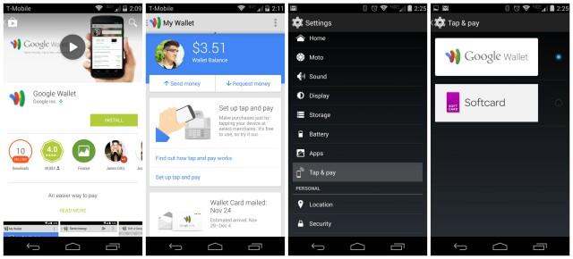 Moto X 2014 Google Wallet