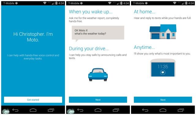 Moto X 2014 Moto_App
