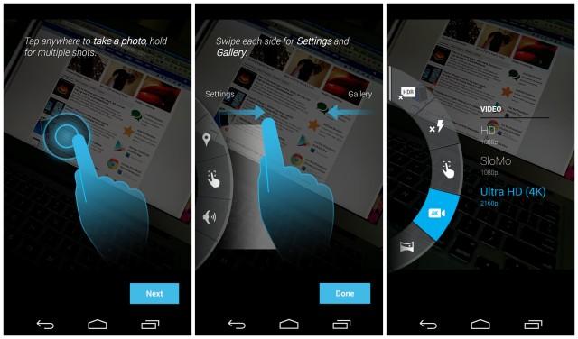 Moto X 2014 camera app